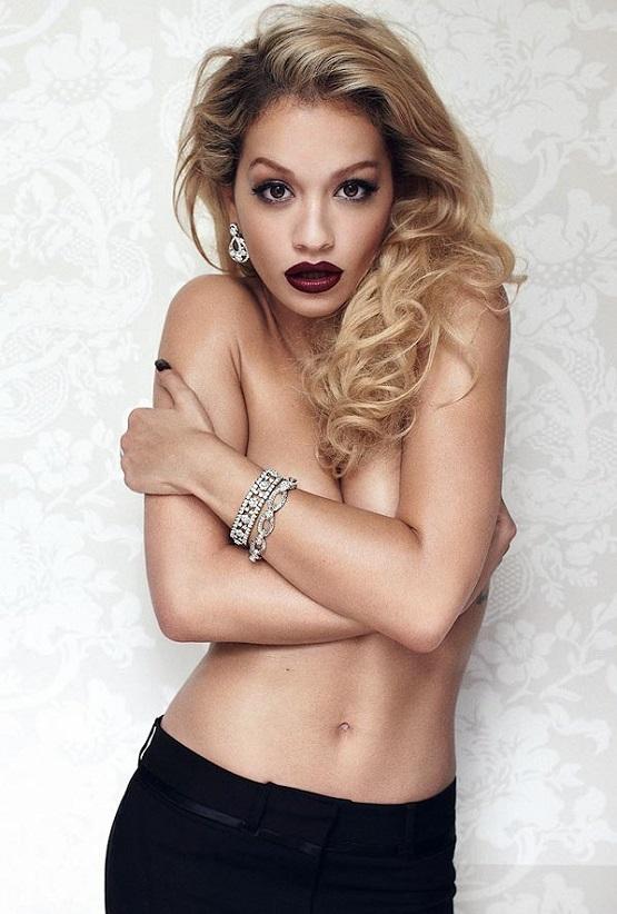 Рита Ора снялась топлесс для журнала GQ август Rita Ora Photo (Рита Ора Фото) американская певица / Страница - 1