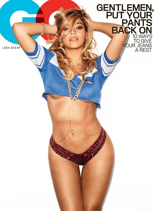 Певица Бейонсе снялась для журнала GQ Beyonce Knowles (Бейонсе Ноулз)