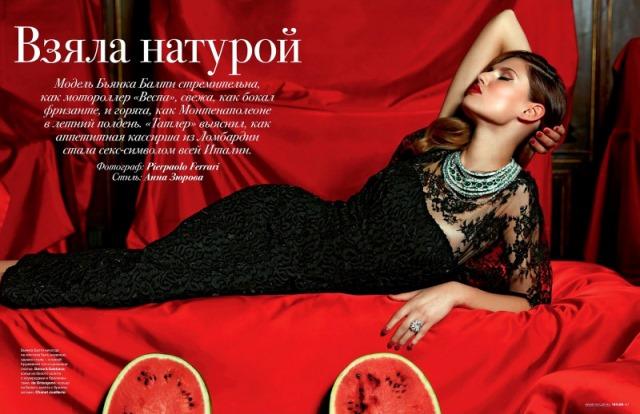 Bianca Balti Photo (Бианка Бэлти Фото) итальянская модель / Страница - 6