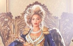 Императрица Бейонс для промо-фото The Mrs.Carter Show World Tour